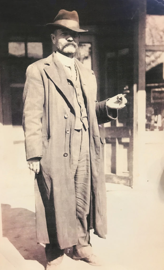 Ephriam Squire in the early 1900s in Ewing, NE