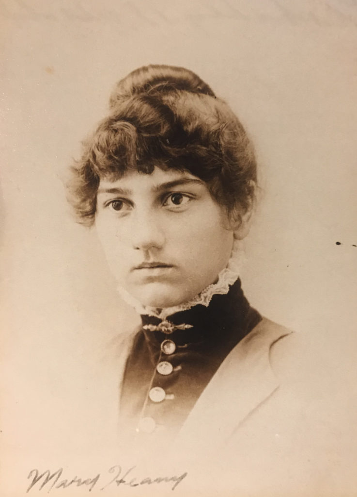 Mary Heany at 18 Years Old