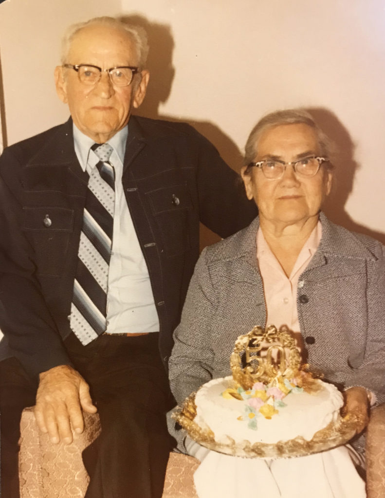 Earl & Mary Rossow May 2nd, 1980 50th Anniversary